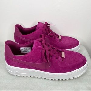 NIKE AIR FORCE 1 sage low true berry size 11